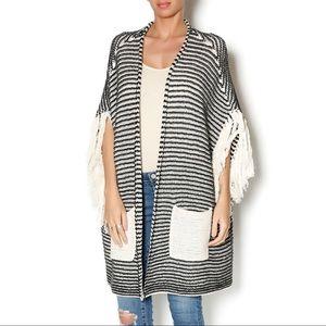 ❤️ANTHROPOLOGIE Sloane Rouge Open Kimono Cardigan